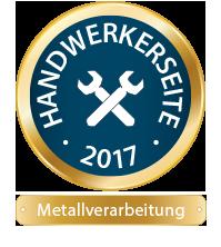 Ausgezeichnet mit dem 1. Platz in der Kategorie Metallverarbeitung: Die cleversite Website von Schmidt Metallbau aus Münster